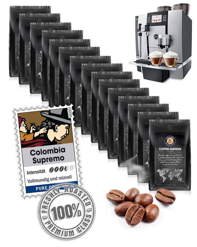 Firmenpaket Rassig & Stark Colombia Supremo von...
