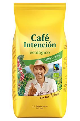 Café Intención Ecologico Cafe Crema 1000 g Bohne
