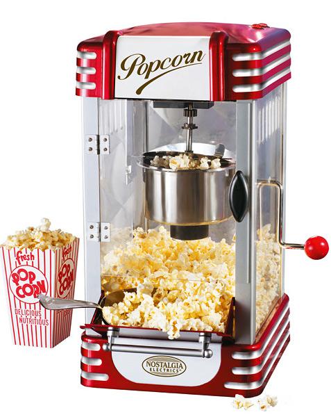 Nostalgie Popcorn Maschine 50er Jahre Profi