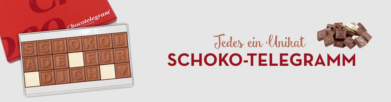 Schoko Telegramm