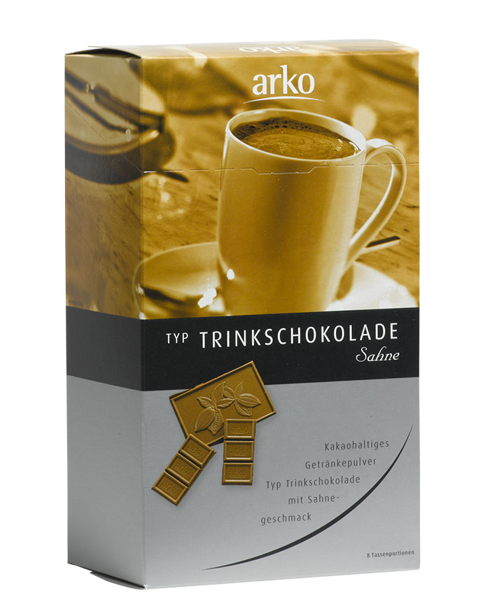Trinkschokolade (8x25g) von arko, 200 g