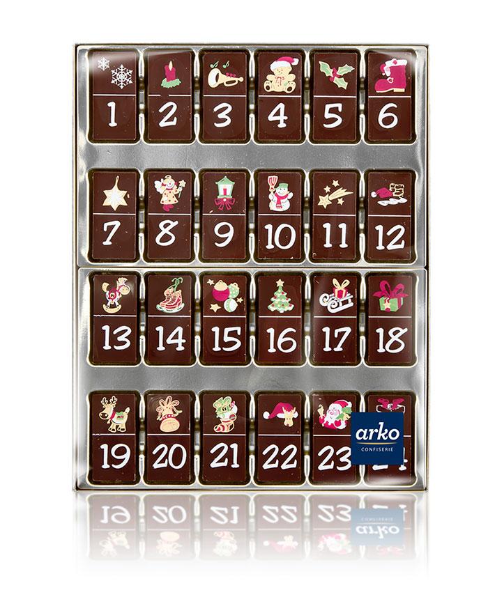 schoko-adventskalender-zartbitter-schokolade-von-arko-200-g