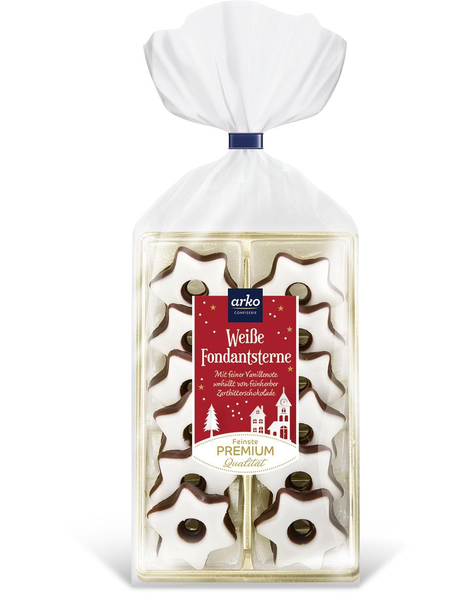 wei-e-sternenpracht-fondant-sterne-mit-schokoladenboden-von-arko-150-g, 2.99 EUR @ gourvita-com