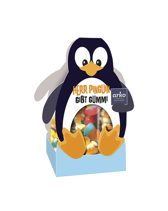 Weingummi-Pinguine von arko, 175 g