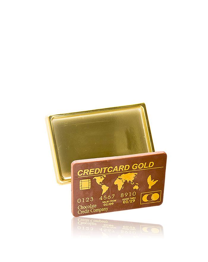 Kreditkarte Vollmilch-Schokolade von arko, 25 g