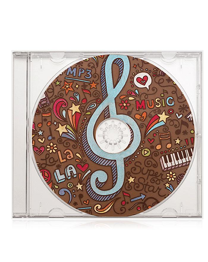 Schokoladen-CD Vollmilch-Schokolade von arko, 40 g