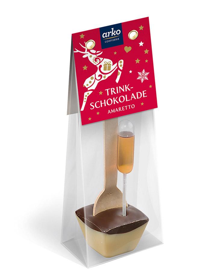 Trinkschokolade Amaretto von arko, 50 g