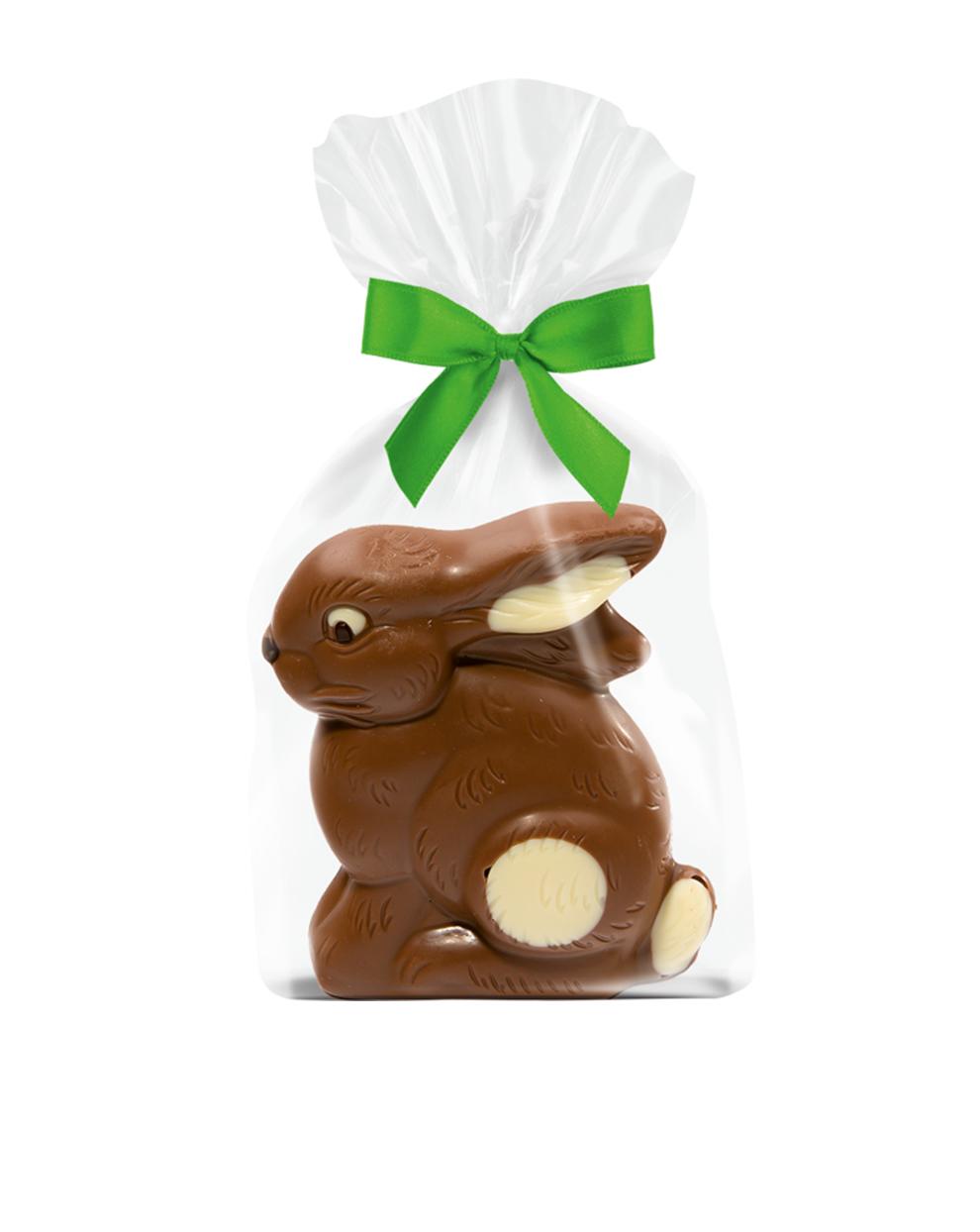 Schokoladen-Sitzhase VM von arko