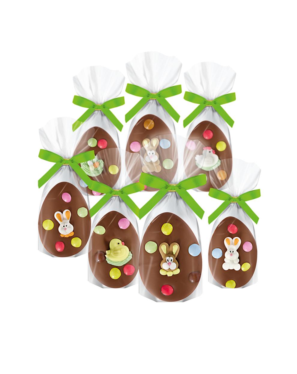 Schokoladen-Ostereier 7-fach sortiert Edelvollmilch von arko