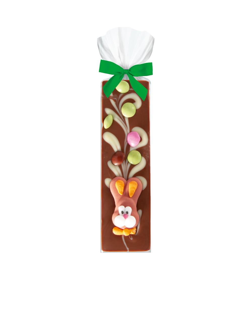 Schokoladenriegel Hase von Eilles, Vollmilchschokolade