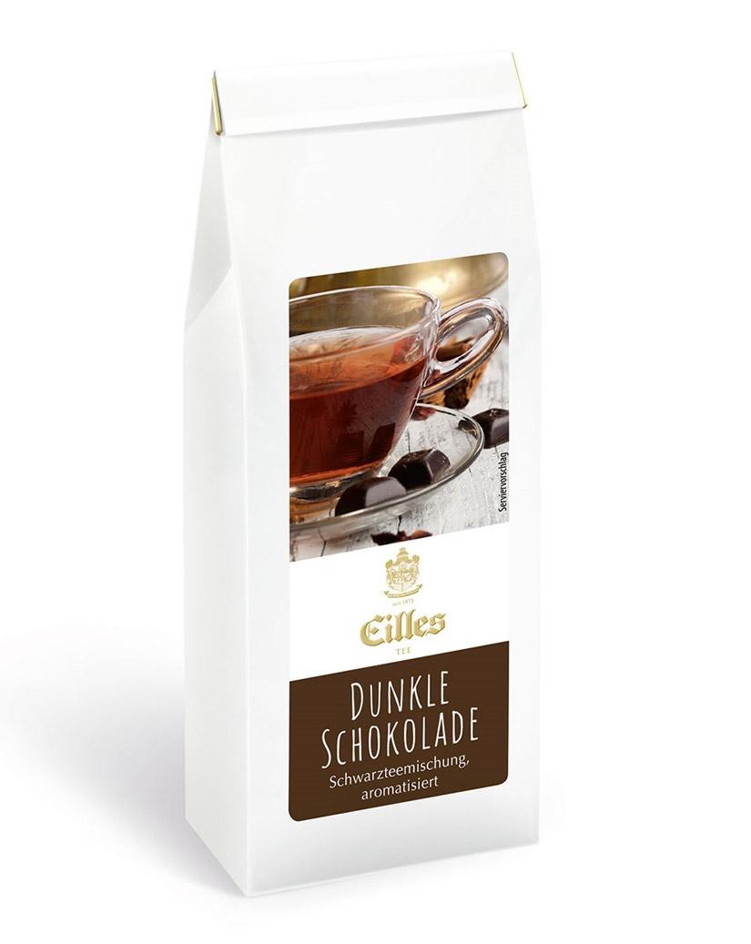 EILLES Schwarztee Dunkle Schokolade, 100 g