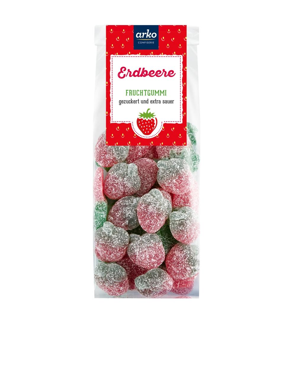 fruchtgummi-erdbeeren-gezuckert-extra-sauer-von-arko-250-g