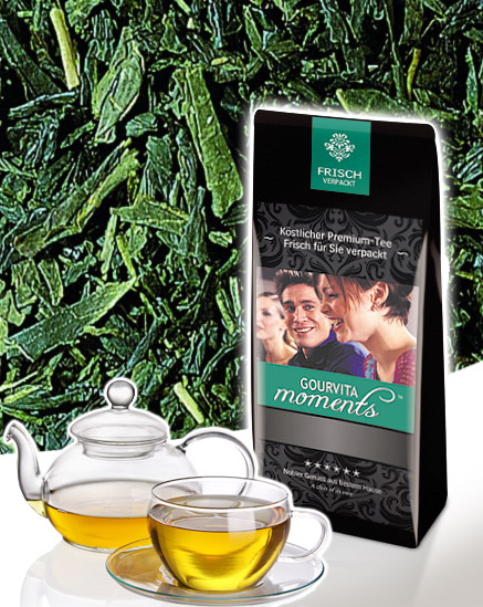 Grüner Tee Japan Sencha Gourvita Moments 100 g