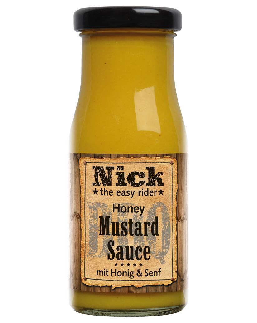 Nick BBQ-Honey-Mustard Sauce 140 ML