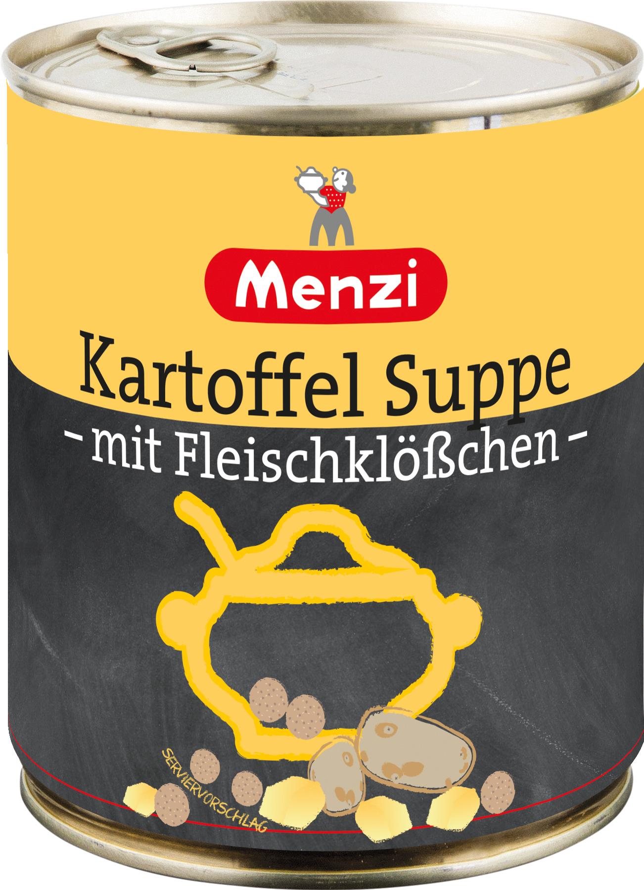 Kartoffelsuppe mit Fleischklößchen von MENZI, 800ml