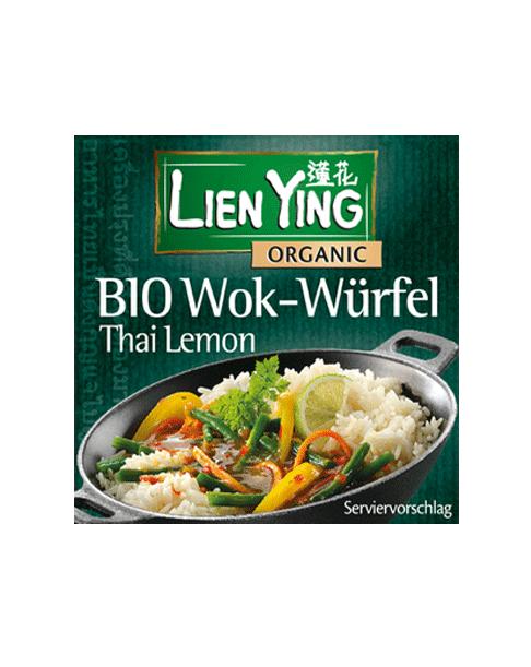 Lien Ying Organic Wok-Würfel Thai Lemon, 40 g