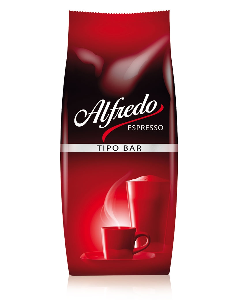 Alfredo Espresso Tipo-Bar 1000 g Bohne