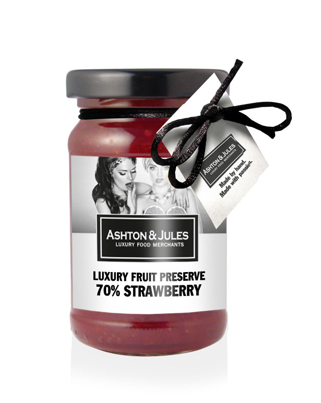 Strawberry 70% Konfitüre von Aston & Jules 125 g