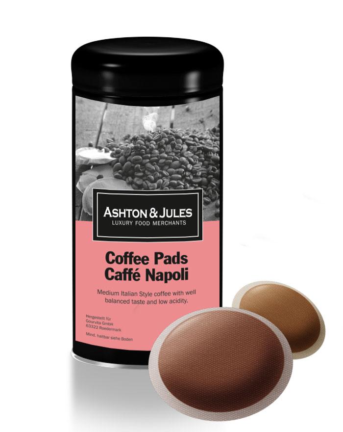 Luxus Kaffeepads Cafe Crema Napoli von Ashton &...