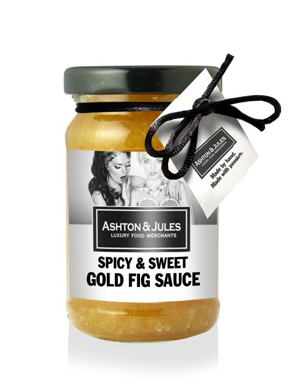 Gold Fig Spicy & Sweet Senfsauce von Ashton & Jules 100 ml
