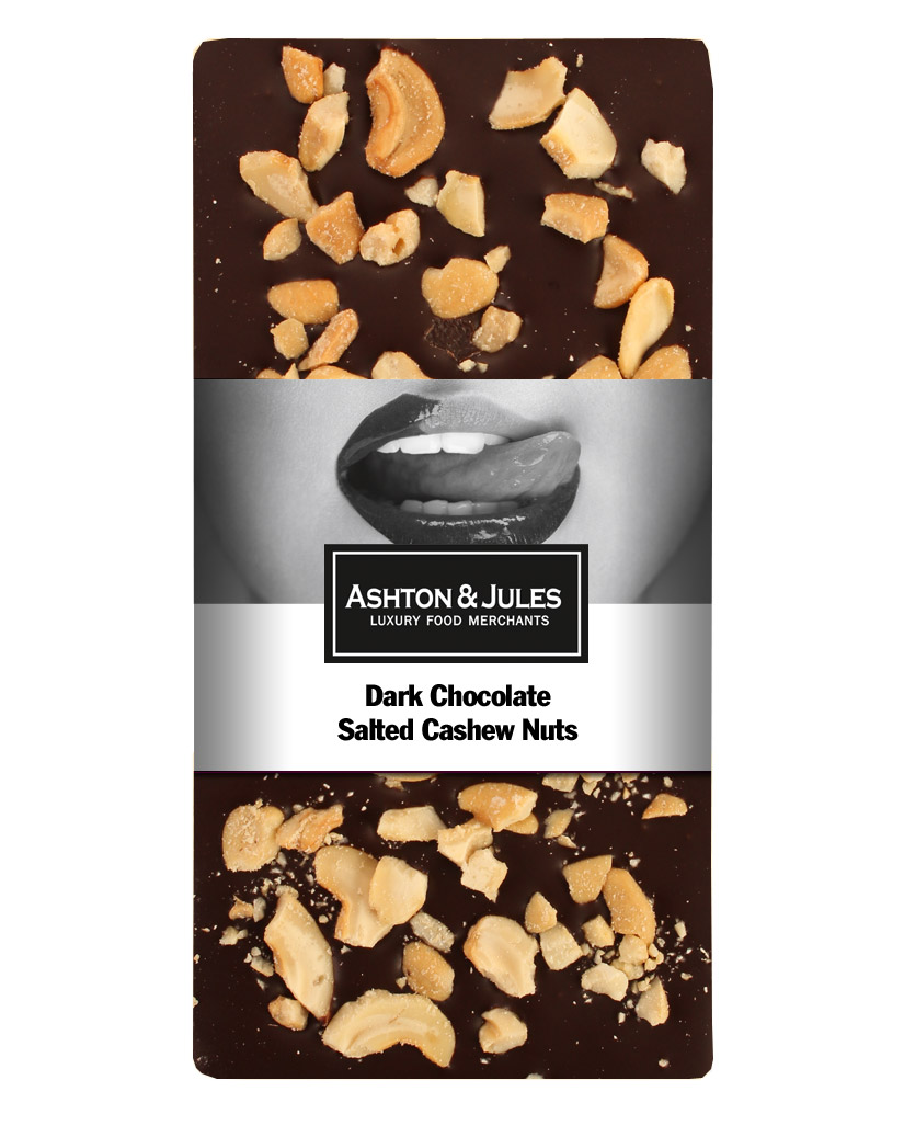 Ashton & Jules Schokolade Zartbitter mit gesalzenen Cashews von 100 g jetztbilligerkaufen