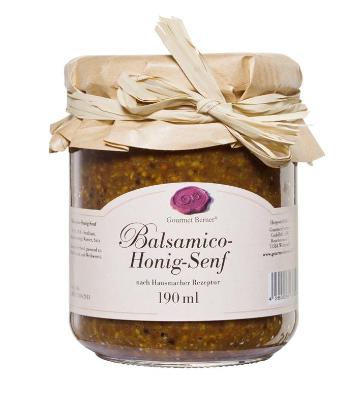 Balsamico-Honig-Senf nach Hausmacher Rezeptur, 190 ml