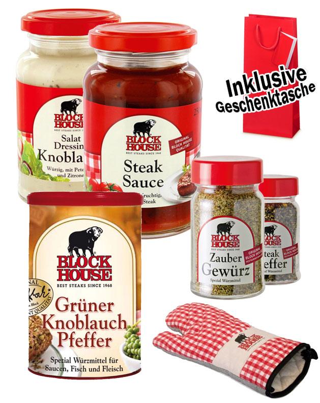 BARBECUE Geschenkset für Grillfans von BLOCK HOUSE
