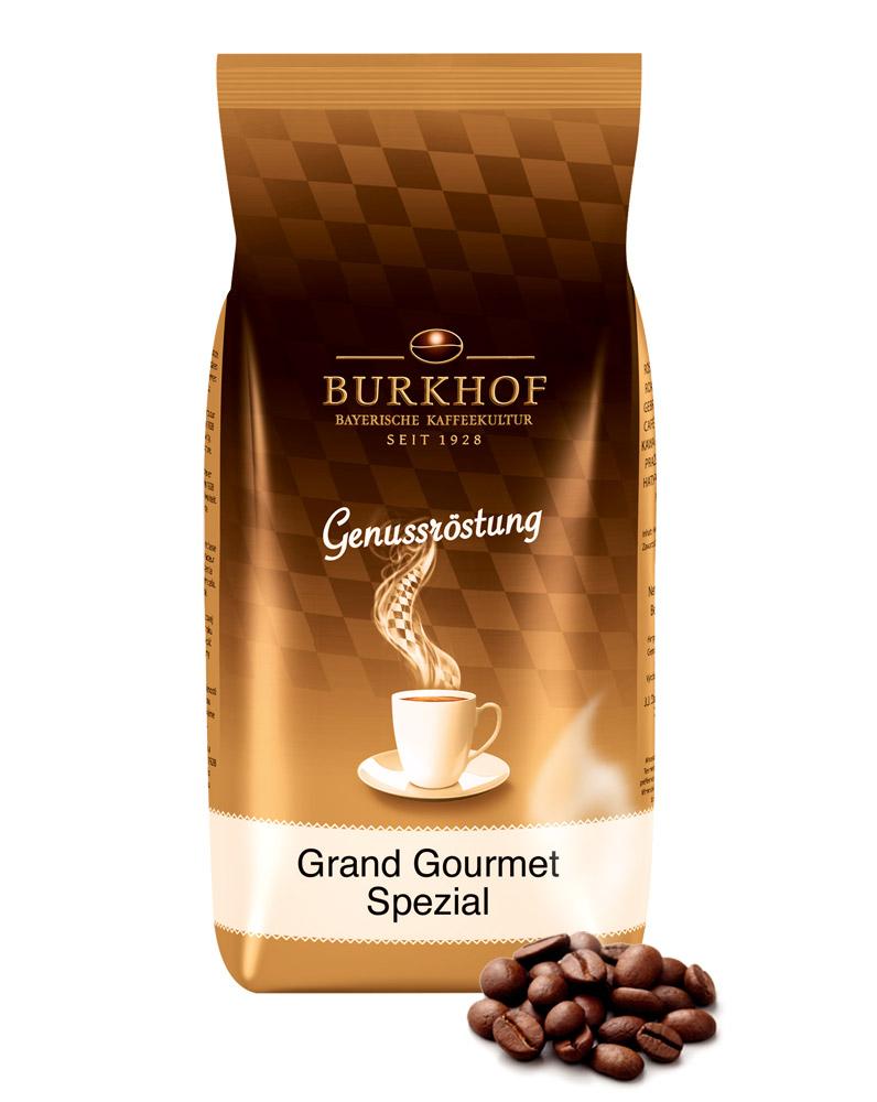 Burkhof Grand Gourmet Bohne, 1000 g