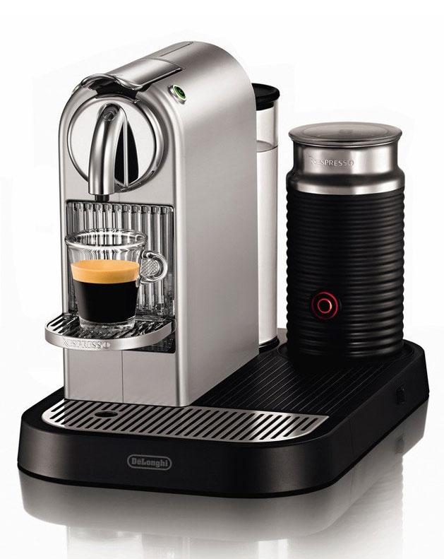 Nespresso® Maschine DeLonghi Citiz & Milk EN 266 Silver