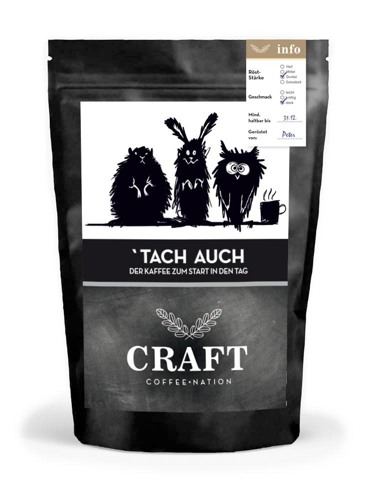 CRAFT ´Tach auch Manufaktur Kaffeebohnen 250 g
