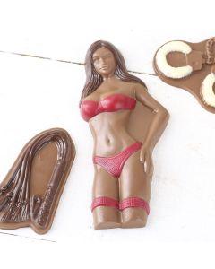 Schokoladen-Präsent FRAU FÜR GEWISSE STUNDEN
