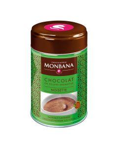 Monbana Flavoured Chocolate Powder Haselnuss