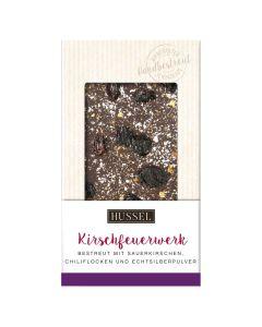 Schokolade Kirschfeuerwerk von Hussel, 100g
