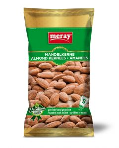 Meray Mandelkerne, geröstet & gesalzen, 85g