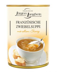 Jürgen Langbein Französische Zwiebelsuppe, 400 ml