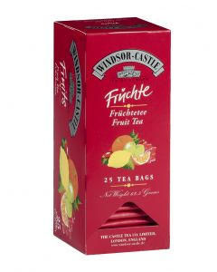 Windsor-Castle Früchtetee, 25 Beutel
