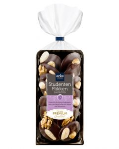 Studentenflikken, Edelbitter-Schokolade, 100 g