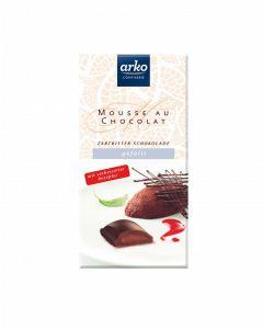 Schokolade Mousse au Chocolat, Zartbitter-Schokolade, 100 g