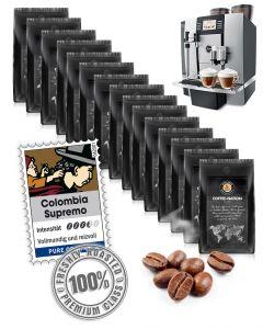 Firmenpaket Rassig & Stark Colombia Supremo von Coffee-Nation 16 kg