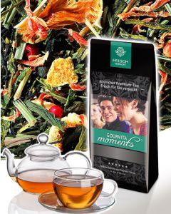 Grün- & Schwarzer Tee Kuss der Karibik Gourvita Moments 100 g