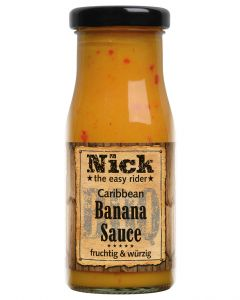 Nick BBQ-Banana Sauce 140 ML