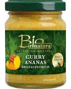 rinatura Brotaufstrich Curry-Ananas Bio 115 g