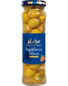 Ibero Spanische grüne Oliven mit Mandeln 150 g