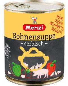 Serbische Bohnensuppe von MENZI, 800ml