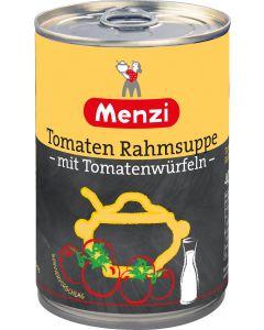 Tomatenrahmsuppe mit Tomatenwürfeln von MENZI, 400ml