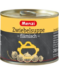 Zwiebelsuppe flämisch von MENZI, 5x200ml