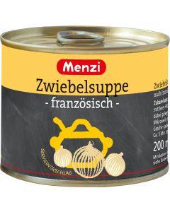 Zwiebelsuppe französisch von MENZI, 5x200ml