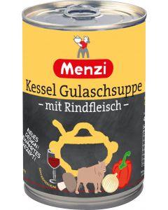 Kessel Gulaschsuppe mit Rindfleisch von MENZI, 400ml