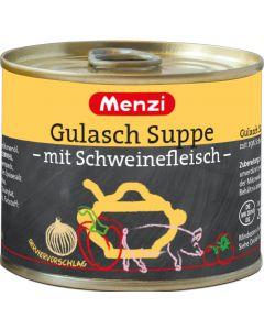 Gulaschsuppe mit Schweinefleisch von MENZI, 5x200ml