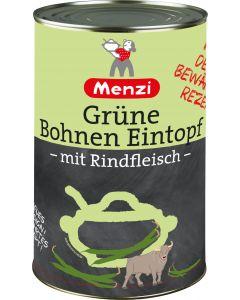 Grüne Bohnen Eintopf von MENZI, 4.200g